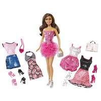 Barbie Doll and Fashion Doll Gift Set - Nikki