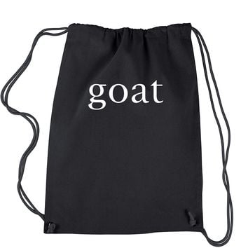 GOAT - Greatest Of All Time  Drawstring Backpack