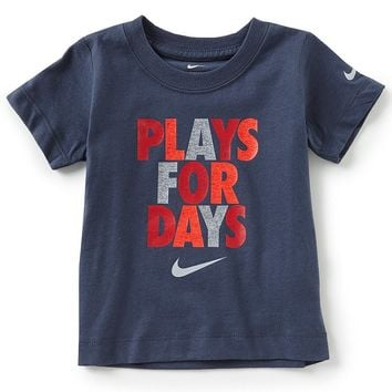 Nike Baby Boys 12-24Months Short-Sleeve Play For Days Tee | Dillards
