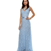 Promo-amelie- Blue Prom Dress