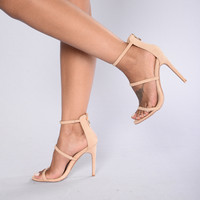 Californication Heel - Nude