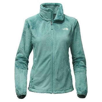 Women's Osito 2 Full Zip Fleece Jacket in Trellis Green by The North Face