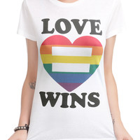 Love Wins Equality Girls T-Shirt