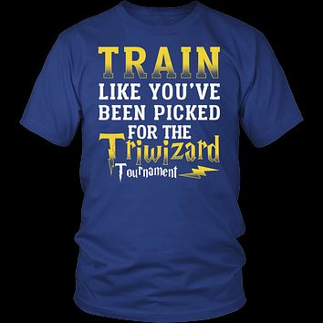 Harry Potter - train like you 've been picked for the triwizard tournament - men short sleeve t shirt - TL00969SS