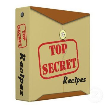 Avery Top Secret Recipe Binder Security Folder from Zazzle.com