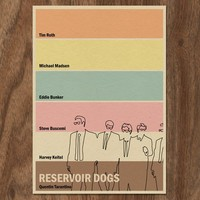 Reservoir Dogs 22x16 Movie Poster