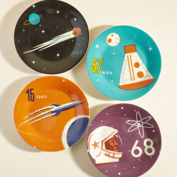 It's Not Chocolate Science Plate Set | Mod Retro Vintage Kitchen | ModCloth.com