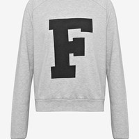 Vera F Printed Sweatshirt - Casual F - French Connection Usa