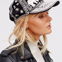 Free People High Roller Embellished Baseball Hat