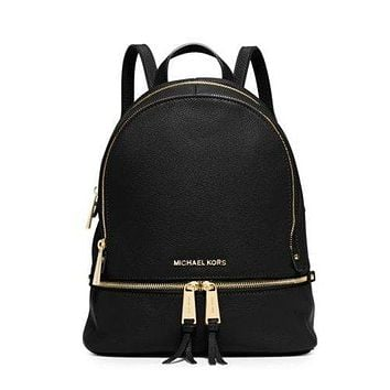 Michael Kors Rhea Small Leather Backpack