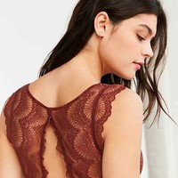 Out From Under Nicole Flutter Sleeve Lace Bra - Urban Outfitters