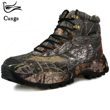 Men's Combat Military Training Outdoor waterproof Trekking Hiking Boots Tactical Boots Sports Hiking Boots