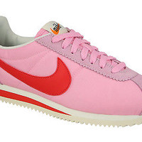 NIKE WMNS CLASSIC CORTEZ NYLON PINK RED WOMEN RUNNING SHOES 882258-601