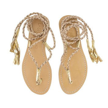 L*Space By Cocobelle - Gili Wrap Sandal | Sand