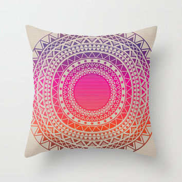 Secret writing Throw Pillow by galgalosh