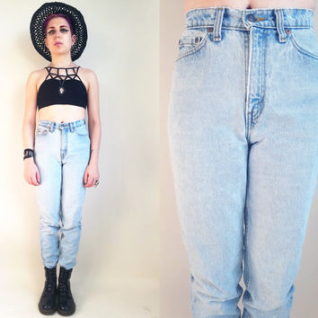 90s Clothing Levis Jeans Vintage Levis Vintage 90s Grunge Jeans Light Wash Jeans Mom Jeans 90s Jeans High Waisted Jeans 26 Waist