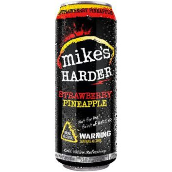 Mike's Harder Strawberry Pineapple, 23.5 fl oz - Walmart.com