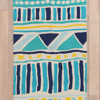 Urban Outfitters - Magical Thinking Bauhaus Stripe Rug