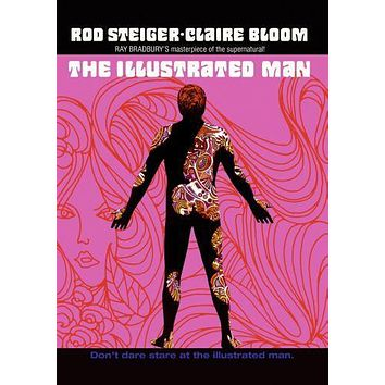 Illustrated Man The Movie poster Metal Sign Wall Art 8in x 12in