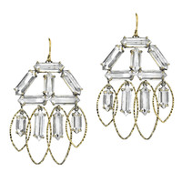 Low Luv by Erin Wasson Crystal Chandelier Earrings
