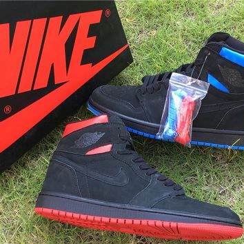 "Nike Air Jordan 1 Retro High OG ""Quai 54"" Size US 7-13"