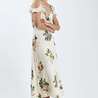 Floral Maxi Dress - Dresses - Clothing