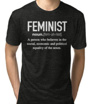 Feminist Definition T-Shirt by funnygifts