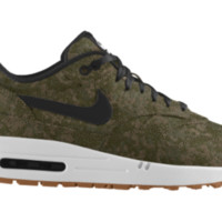 Nike Air Max 1 Premium iD Custom Men's Shoes - Green