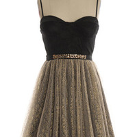 Golden Mistletoe Dress - $64.95 : Indie, Retro, Party, Vintage, Plus Size, Convertible, Cocktail Dresses in Canada