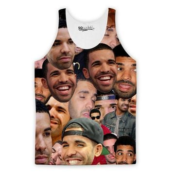 Drake Collage Tank Top