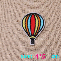 2016year New arrival 1PC umbrella Iron On Embroidered Patch For Cloth Cartoon Badge Garment Appliques DIY Accessory