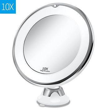 LED 7X Magnifying Mirror