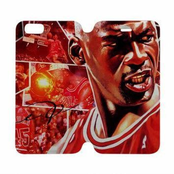 CREYUG7 MICHAEL JORDAN Case Wallet iPhone 4/4S 5/5S 5C 6 Plus Samsung Galaxy S4 S5 S6 Edge Not
