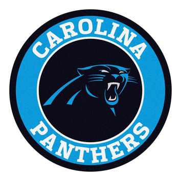 Carolina Panthers NFL Round Floor Mat (29)
