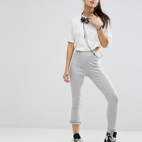 Minkpink Move Rib Legging at asos.com