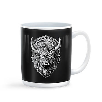 Ornate Animal Mugs