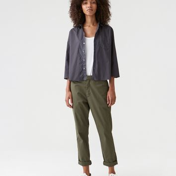 News Trouser Deep Green