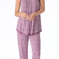 Carole Hochman Playful Hearts Pajama - Playful Hearts Adult
