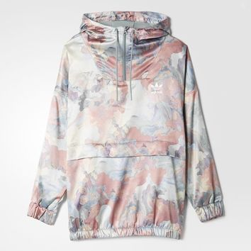 adidas Pastel Camo Satin Top - Multicolor | adidas US