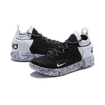 Nike Zoom KD 11 Black White - Best Deal Online