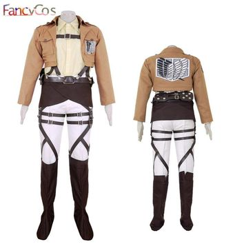 Cool Attack on Titan Halloween  Hans Zoe no  Survey Corps Black  Anime Version Cosplay Costume Game Japanese AT_90_11
