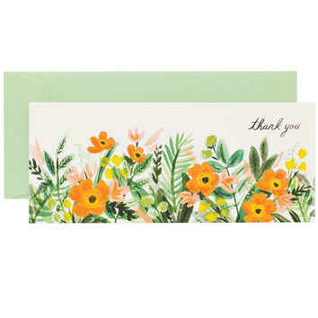 Honeydew Thank You Card