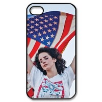 Lana Del Rey Design TPU Protective Cover Case For Iphone 4 4s iphone4s-82314
