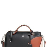 Fendi 'Small By the Way' Colorblock Leather Shoulder Bag - Black