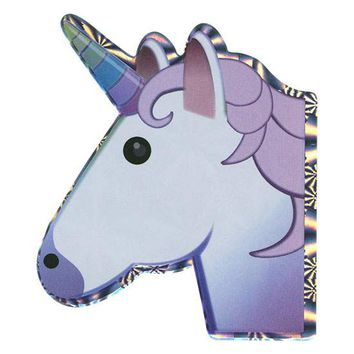 Unicorn Emoji Hologram Sticker | Emojis