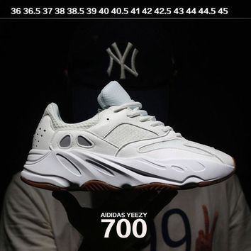PEAPNW6 Sale Kanye West x Adidas Calabasas Yeezy Boost 700 Runner Sport Shoes Running Shoes White