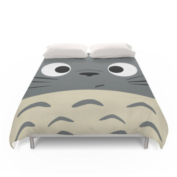 Society6 Dubiously Troll Duvet Cover