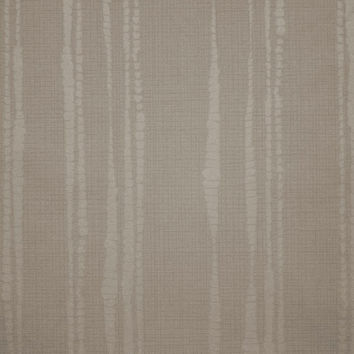 Laddered Stripe Wallpaper in Taupe design by Kelly Hoppen for Graham & Brown