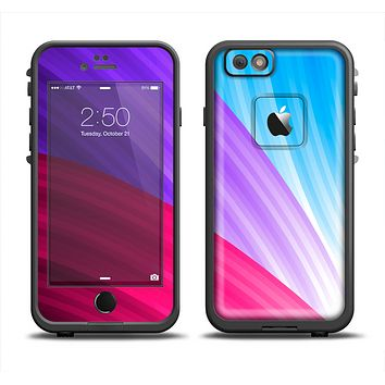 The Radiant Color-Swirls Apple iPhone 6 LifeProof Fre Case Skin Set