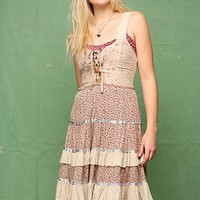 Free People Eyelet Overdye Ditsy Dress